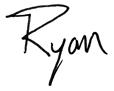 ryan signature