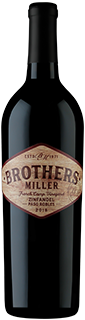 Brothers Miller French Camp Vineyards Paso Robles Zinfandel 2018