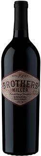 Brothers Miller French Camp Vineyards Paso Robles Zinfandel 2019