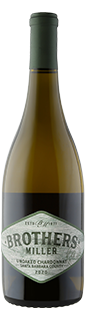 Brothers Miller Santa Barbara Unoaked Chardonnay 2020
