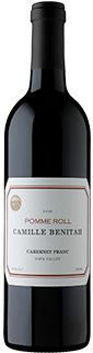 Camille Benitah Pomme Roll Cabernet Franc Napa Valley 2016