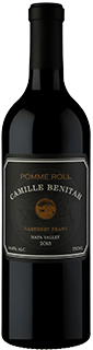 Camille Benitah Pomme Roll Napa Valley Cabernet Franc 2018