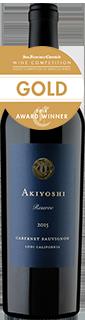 David Akiyoshi Reserve Cabernet Sauvignon Lodi 2015