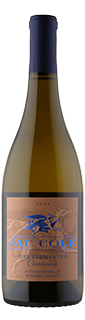 Jac Cole Alexander Valley Oak Fermented Chardonnay 2019