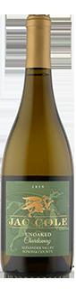 Jac Cole Alexander Valley Unoaked Chardonnay 2019