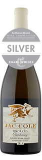 Jac Cole Russian River Valley Unoaked Chardonnay 2018