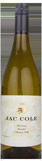 Jac Cole Unoaked Chardonnay Alexander Valley 2014