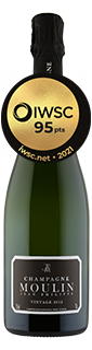 Jean Philippe Moulin Vintage Champagne 2012