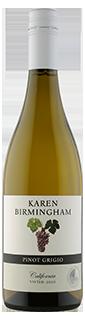 Karen Birmingham California Pinot Grigio 2020