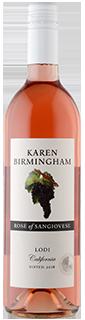 Karen Birmingham Lodi Sangiovese Rose 2018