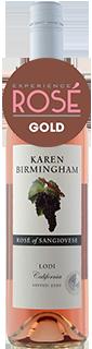 Karen Birmingham Lodi Sangiovese Rose 2020