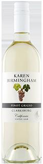 Karen Birmingham Clarksburg Pinot Grigio 2018