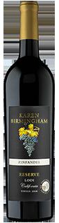 Karen Birmingham Reserve Lodi Zinfandel 2017
