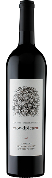 Ken & Derek Crowdpleazin Dry Creek Valley Zinfandel 2016