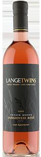LangeTwins Estate Lodi Sangiovese Rose 2020