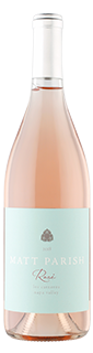 Matt Parish Napa Rose of Pinot Noir 2018
