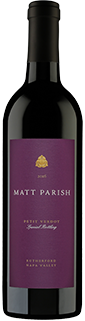 Matt Parish Special Bottling Rutherford Petit Verdot 2016