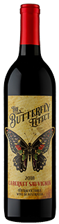 Sam Plunkett The Butterfly Effect Cabernet Sauvignon 2018